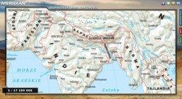 Geopolityka - Mapa konturowa