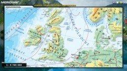 Europa - Ukształtowanie powierzchni