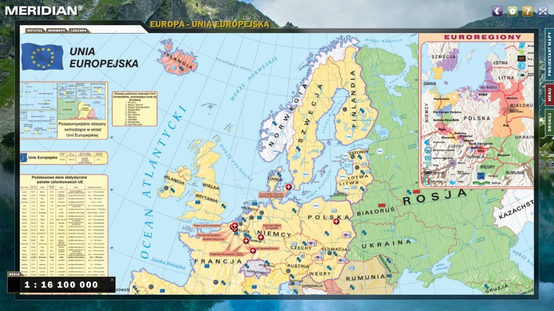 Multimedialny Atlas Geograficzny Kontynenty Multimedialne