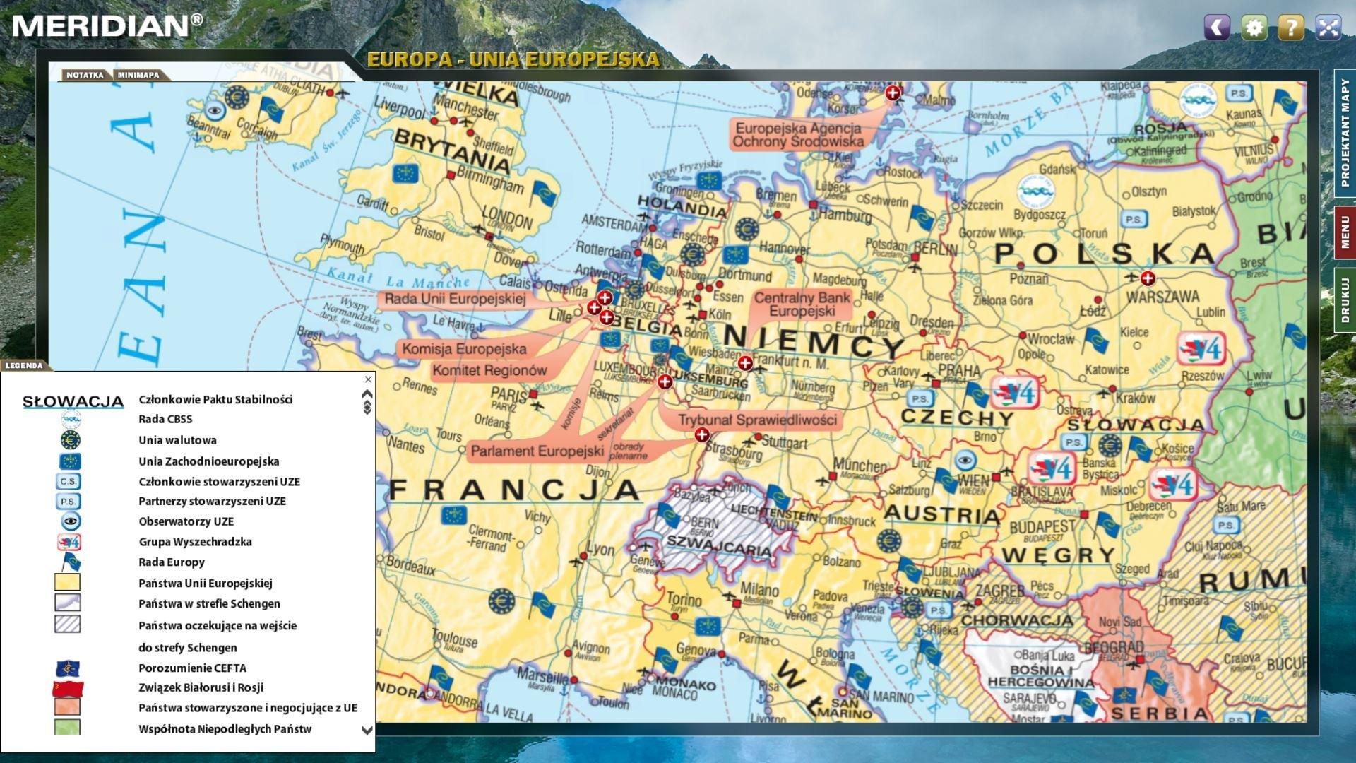 Atlas Geograficzny Dla Kontynentu Europejskiego Windatlas Pl