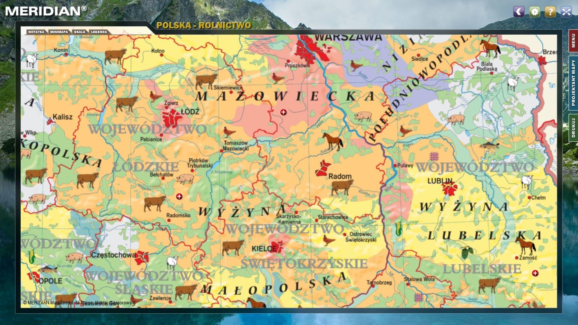 Multimedialny Atlas Geograficzny Polska Multimedialne Atlasy
