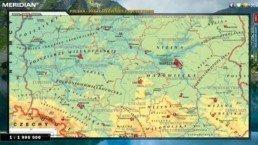Polska - Ukształtowanie powierzchni